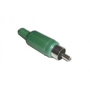 Connecteur RCA Mâle vert