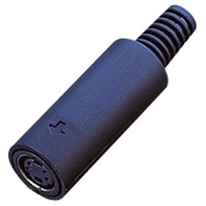 Connecteur MiniDIN Femelle - 4 points