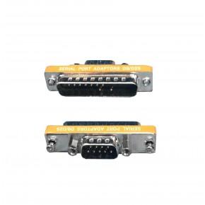 Adaptateur DB9M / DB25M