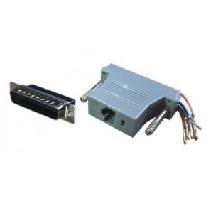 Adaptateur DB25 M / RJ45