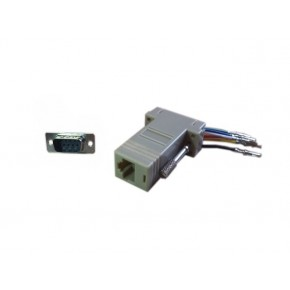 Adaptateur DB9 M / RJ45