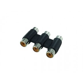Coupleur 3 RCA F / F Audio & Video