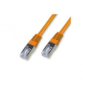 Cordon Cat 6 SSTP Orange - 1 m