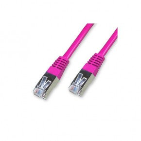 Cordon Cat 6 SSTP Rose - 0.50 m