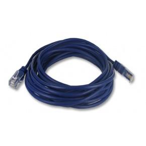 """Cordon RJ45 2 paires bleu """"téléphone"""" - 0.5 m - 3/3 4/4 5/5 6/6"""