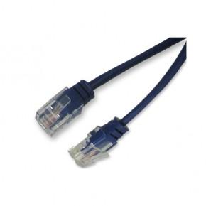"""Cordon RJ45 1 paire bleu 4/5 """"téléphone"""" 100 ohms - 2 m 100% cuivre"""