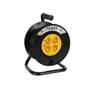 Enrouleur 25m - 3G1.5 - 4 prises