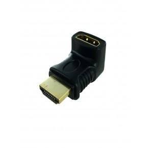 Adaptateur HDMI M / F - Coudé 90°