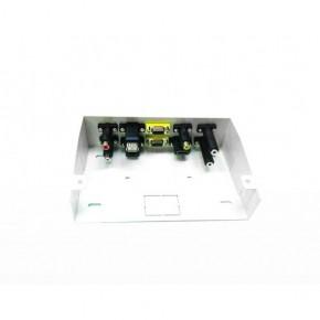 UPTEC - Pack boîtier déport métal + cordons 15m (USB 5m)