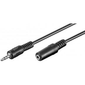 Rallonge Jack stéréo 3,5 mm M / F - 5 m