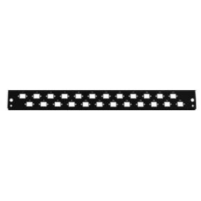 Façade pour tiroir optique 24 x LC Duplex ou E2000/SC simp Horizontal