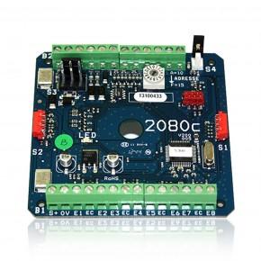 Pack comprenant : 1 Module 2080C + 1 Alimentation en coffret métal 12V 3A - Prévoir Batterie SP070