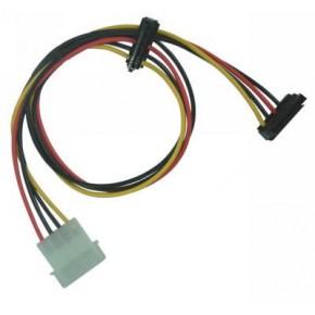 Adaptateur 2 SATA droit / connecteur 5''1/4