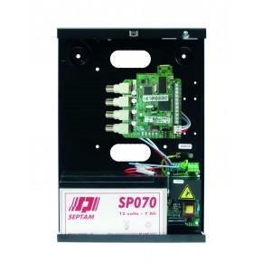 Interface de transmission vidéo sur IP pour centrales HARMONIA - 4 entrées vidéo BNC    NF&A2P