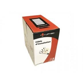 UPTEC - Câble F/UTP - LS0H - Cuivre -  Monobrin Cat 5e Gris - 305 m