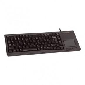 Clavier CHERRY miniature bas profil avec TouchPad USB Noir AZERTY