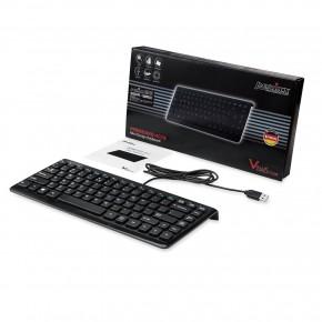 Mini-Clavier PERIXX - Ultraplat - Noir - 320x141x25mm - USB