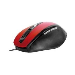 """Souris PHOENIX """"GAMER"""" optique rouge - filaire USB - 5 boutons EOL"""