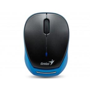 GENIUS - Souris sans-fil I/R USB 9000R  Noir/Bleu 1200Dpi - EOL