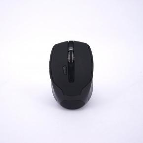 Souris UPTEC sans fil noire 5 boutons + 1 molette - USB - 1600dpi