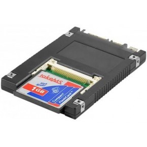 "SSD 2,5"" Sata pour 1 carte Compact Flash"