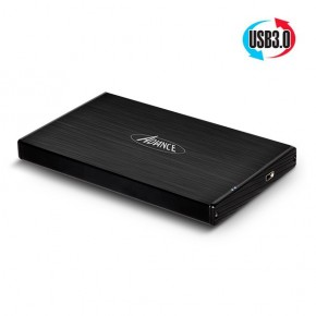 """Mobility Disk S8 2.5"""", USB 3.0-SATA, 2.5""""-9.5cm, jusqu'à 1T"""