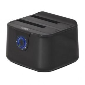 DUALDOCK USB 3.0 - pour 2 HDD 2.5 & 3.5 SATA, Hot swap,Plug&play