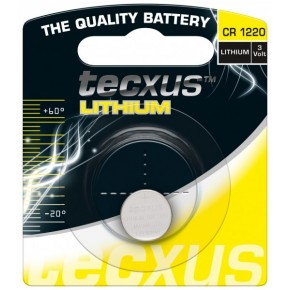 Piles lithium bouton CR 1220