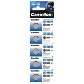 Piles lithium bouton CR 1616 pack de 5