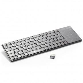 Mini Clavier sans fil pour Smart TV avec pad - Azerty - NGS