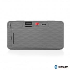 Haut parleur Bluetooth 3W noir entrée USB carte SD radio FM - NGS