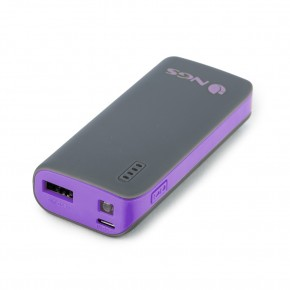 POWERBANK 4000MAH avec sortie 5V1A violet - NGS
