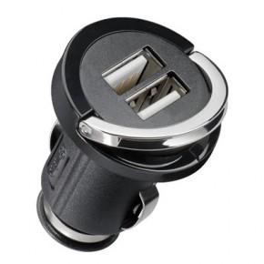 Mini chargeur allume cigare 2x USB - 2100 mA