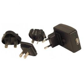 Chargeur USB universel sur prise secteur