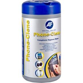 AF - Phone-clene, Boite 100 lingettes nettoyantes pour les téléphones