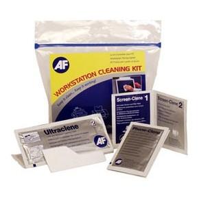 AF - Workstation Cleaning Kit, Nettoyant écran, clavier, téléphone