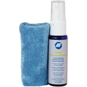 AF - Multi-Screen Travel Pack chiffon microfibre + bouteille 25ml