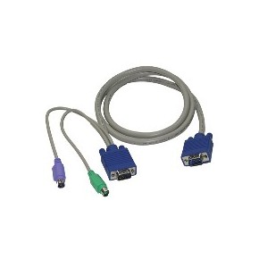 Câble KVM PS/2 M / M - 1,8 m