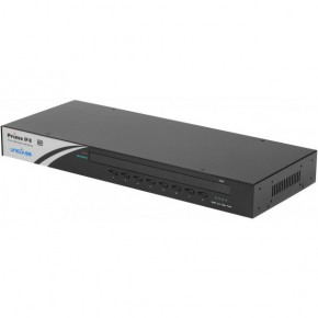 KVM 8 ports USB & PS/2 / VGA rackable manageable en IP
