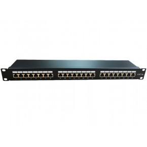 "Panneau 19"" 1U - Keystone - 24 ports Cat 5e FTP"