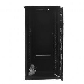 UPTEC - Baie 19'' 27U noire 600 x 800 (charge 800 Kg)
