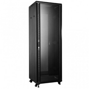 UPTEC - Baie 19'' 42U noire 800 x 800 (charge 800 Kg)