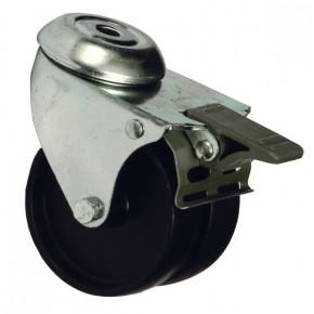 Roulette charge lourde avec frein pour baie