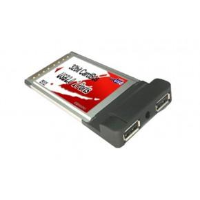 Carte PCMCIA USB 2.0 2 ports