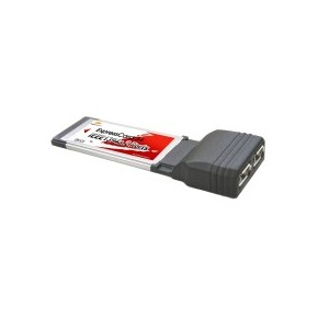 ExpressCard 2 ports Firewire 400 Mbps