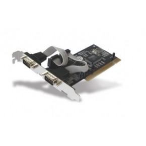 Carte PCI 2 ports série DB9 mâle