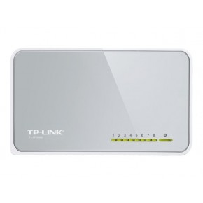 Switch TP-LINK 8 ports soho 10/100 MBP Blanc TL-SF1008D