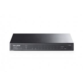Switch 8 ports Giga POE - 2 ports SFP - Métal - TP-Link TL-SG2210P