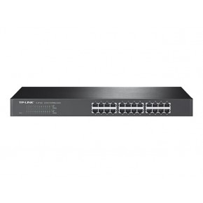 Switch TP-LINK 24 ports rackable 10/100 MBP Noir TL-SF1024