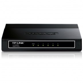 Switch TP-LINK 5 ports soho Gigabit Noir TL-SG1005D
